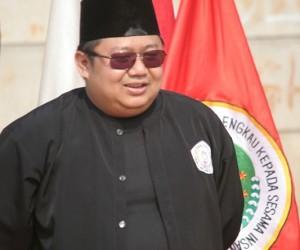 Ketua Yayasan Beksi – Perguruan Pencak Silat Betawi Beksi 4 bintang H. Irvansyah, S.Ip, M.Si